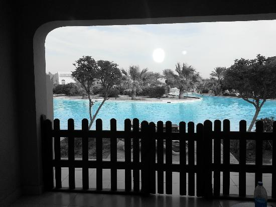 Coral Sea Holiday Village: View from our room