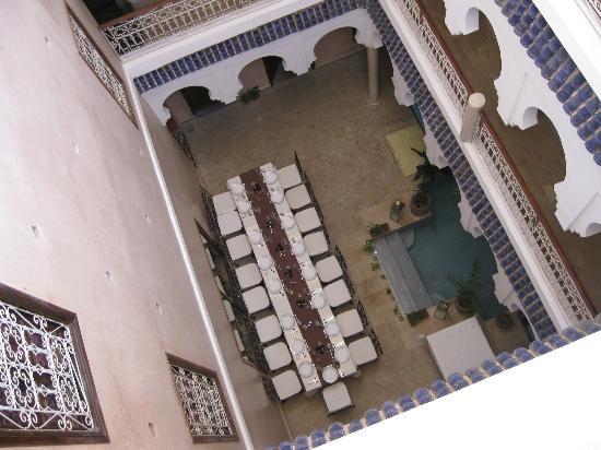MonRiad: Vista dall'ultimo piano