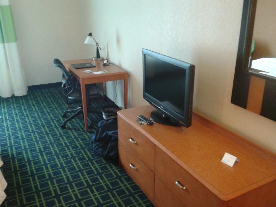 Fairfield Inn & Suites Lock Haven : room