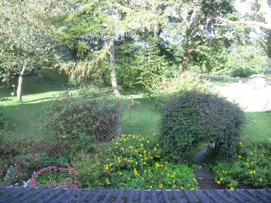 Penrhadw Farm: View from our room