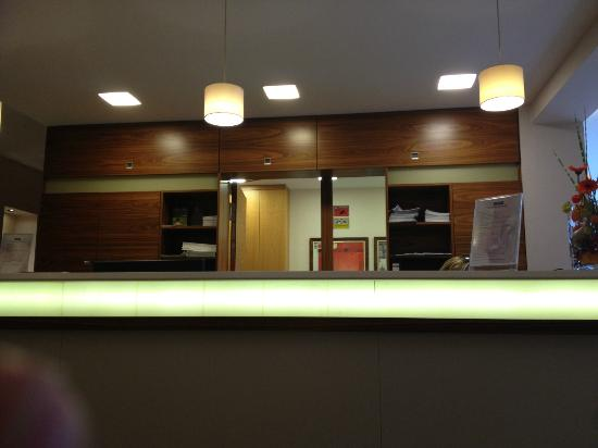 Hotel Ammerhauser: Rezeption
