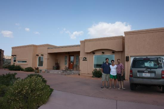 Dreamkatchers Lake Powell Bed & Breakfast : Eric and Jarod