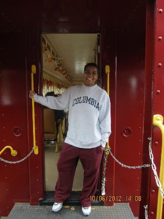 Catskill Mountain Railroad: Hanging out!