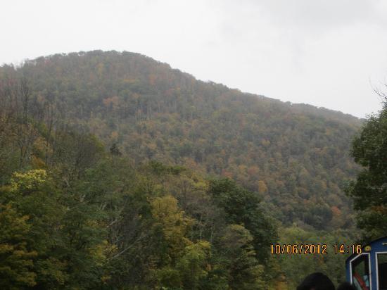 Catskill Mountain Railroad: The view