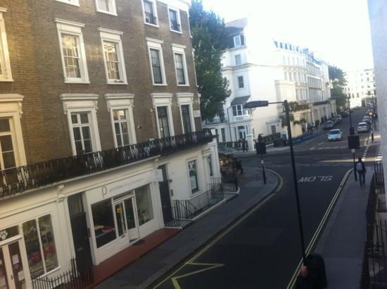 Lancaster Hall Hotel: fotografia da craven terrace street.
