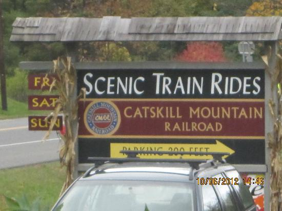 Catskill Mountain Railroad: We have arrived