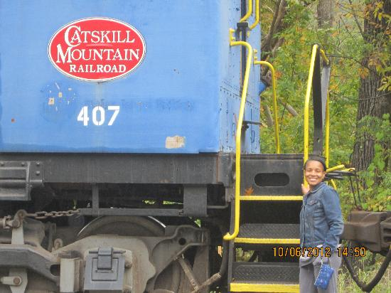 Catskill Mountain Railroad: On the train