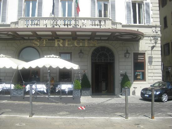 The St. Regis Florence: Entrance