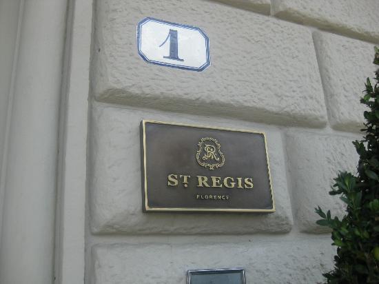 The St. Regis Florence: St Regis