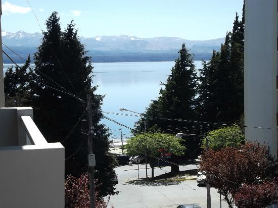 Ayres del Nahuel: Vista desde a sacada do hotel