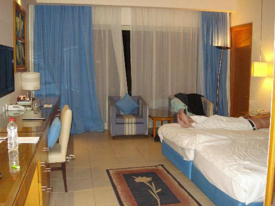 Radisson Blu Resort, Sharm El Sheikh: our room