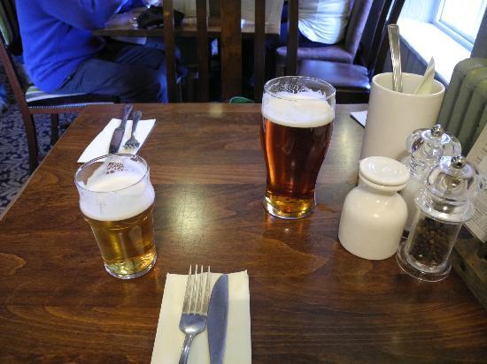 Castle Inn Bakewell: beer