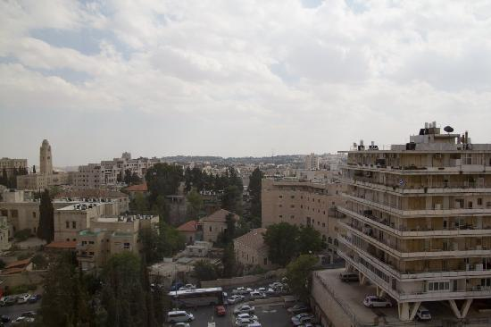 Leonardo Plaza Hotel Jerusalem: View from the window