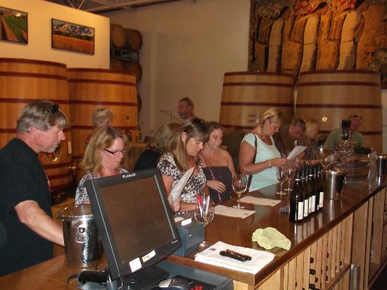 Stagecoach Wine Tours Santa Ynez: Curtis Winery, Billy was awesome, so was his wine!