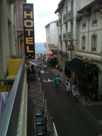 Brit Hotel Marbella: vue de la chambre