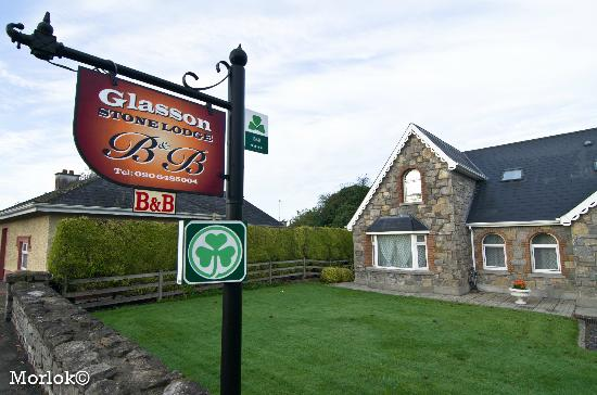 Glasson Stone Lodge: Insegna B&B