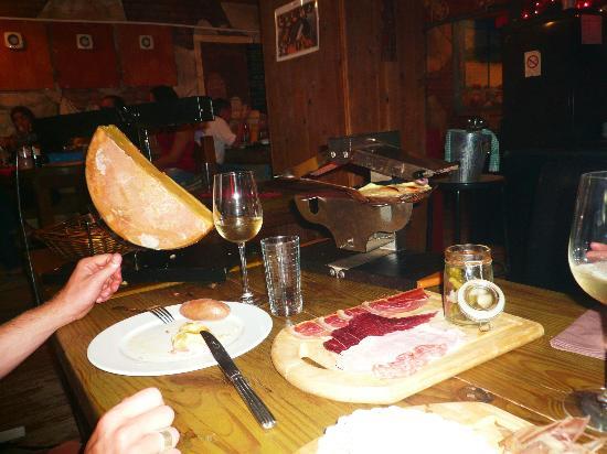 Restaurant Le Chalet Suisse : De vraies coulées...
