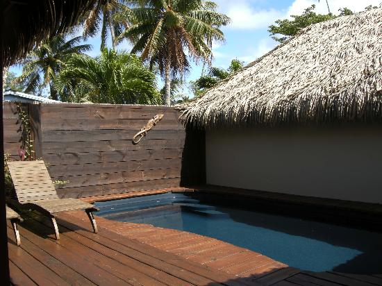 Sea Change Villas: pool in villa