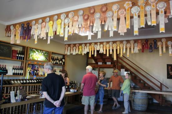 Vino Noceto Winery: Tasting room