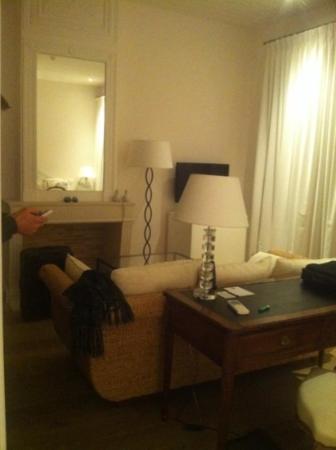 La Villa Clarisse : chambre