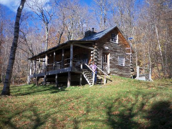 Trapp Family Lodge: Cabin in the woods on the hike
