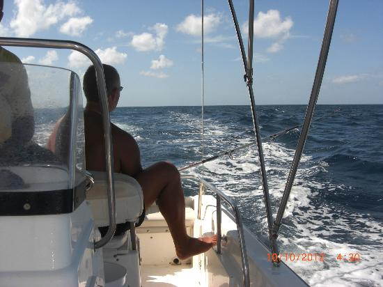 The Club, Barbados Resort and Spa: Out fishing again...