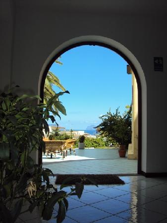 La Zagara Hotel : ingresso