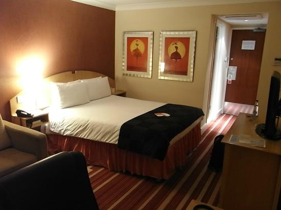 first impression of my room at the RAMADA Dover (October 2012)