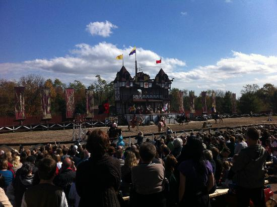 Mount Hope Estate & Winery, home of the Pennsylvania Renaissance Faire: Jousting Grounds