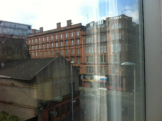 Radisson Blu Hotel, Glasgow: View from bedroom