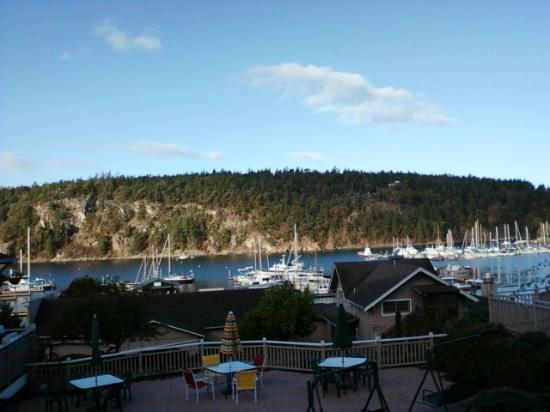 WorldMark Deer Harbor: View from just above the pool