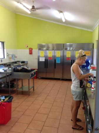 Byron Bay YHA: a bit busy in kitchen at times but nice, clean and spacy