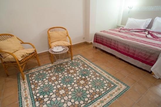 Riad Alnadine: chambre warda