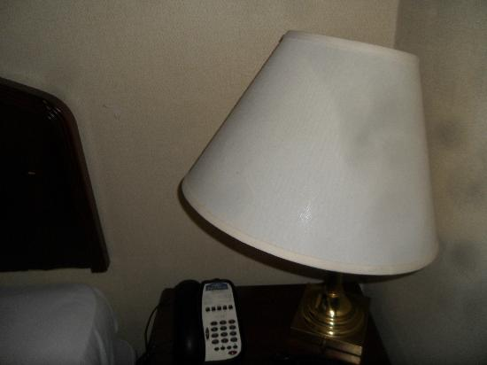 Howard Johnson Inn Toronto Downtown West: Dirty Lamp