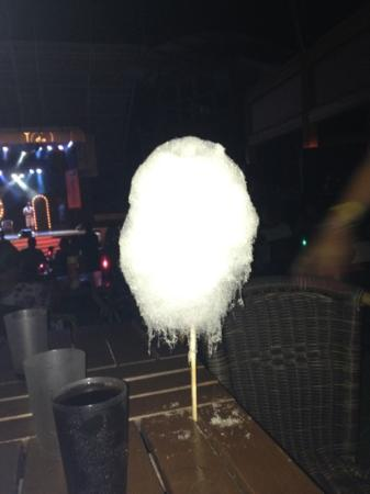 Pegasos World Hotel: candy floss melting in the heat