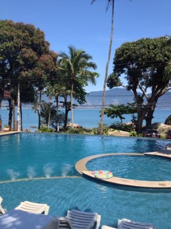 بورتو باكويبا هوتل إلهابيلا: vista da piscina 