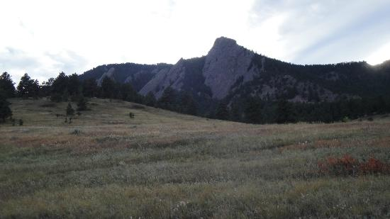 Chautauqua Cottages: View of the Flatirons