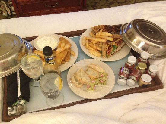 Hilton Garden Inn Danbury: Dinner was fabulous!