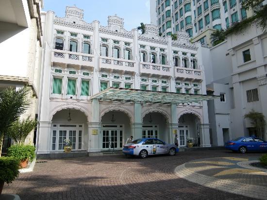 InterContinental Singapore: Driveway