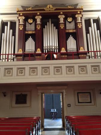 St. Paul's Episcopal Church: one of only 2 types of this organ in the country. The other is in ATL.