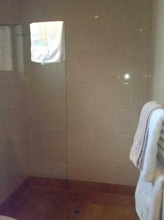 Grand Vue Private Hotel: Shower