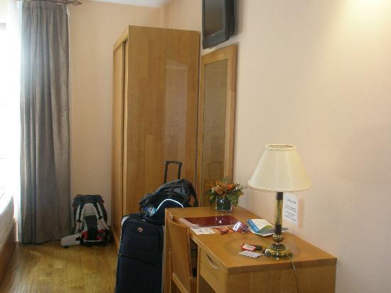 Hotel O Desvio: vista do quarto