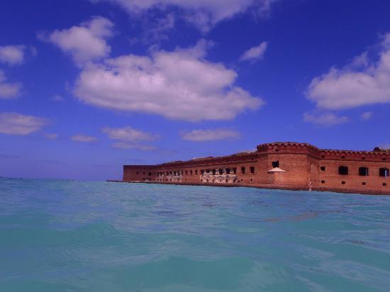 Fort Jefferson: From the water