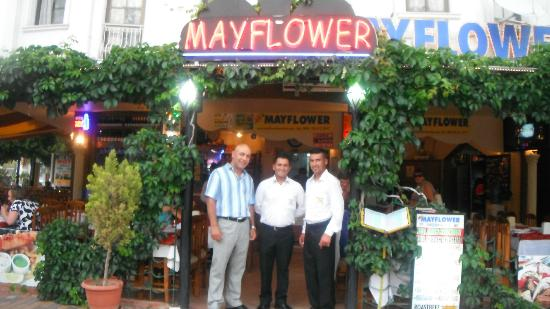 Mayflower : The owners