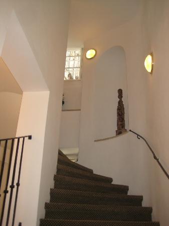 Hotel Pod Vezi: Stairway