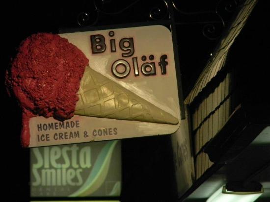 Big Olaf Creamery: Expensive Ice Cream