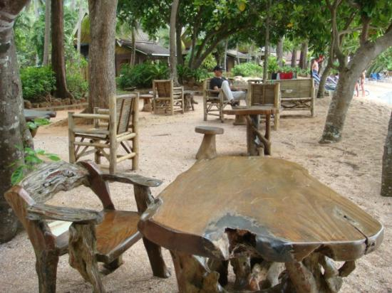 Krabi Resort: beach bar area