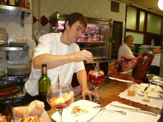 Restaurante Salzillo: Antonio Belando son
