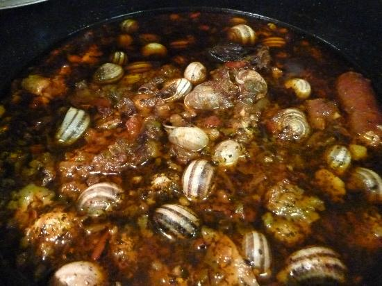 Salzillo: Fabulous stew with snails
