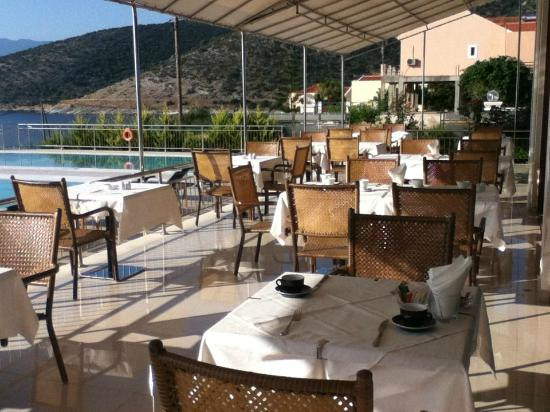 Odyssey Hotel Kefalonia: breakfast, lunch or dinner